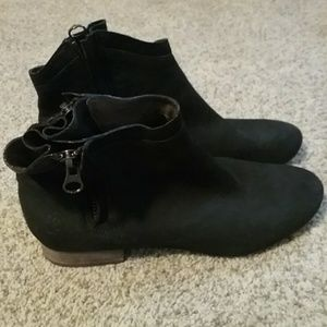 Sam Edelman leather booties size 10